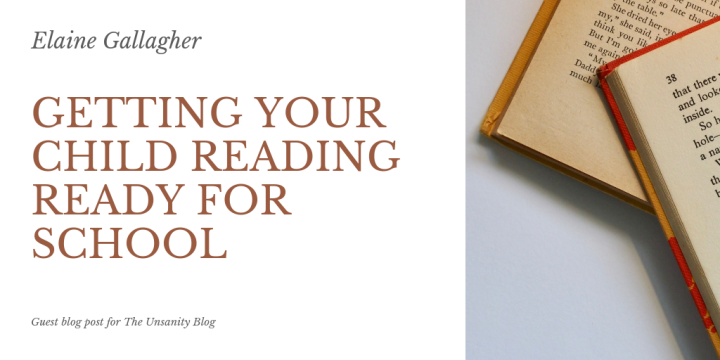 Getting Your Child Reading Ready for School – Elaine Gallagher