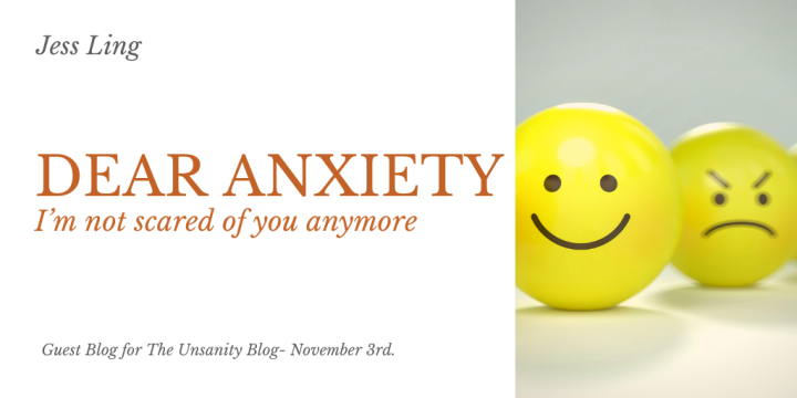 Dear Anxiety – Jess Ling
