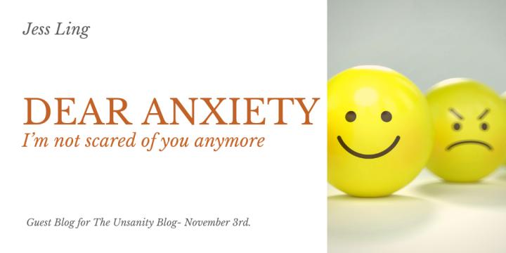 Dear Anxiety – JessLing