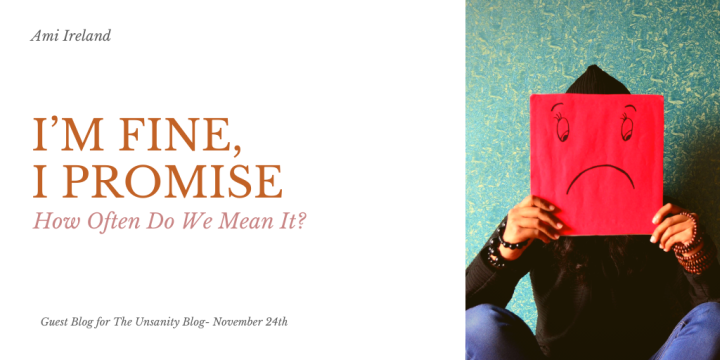 I'm Fine – How Often Do We Mean It? – Ami Ireland