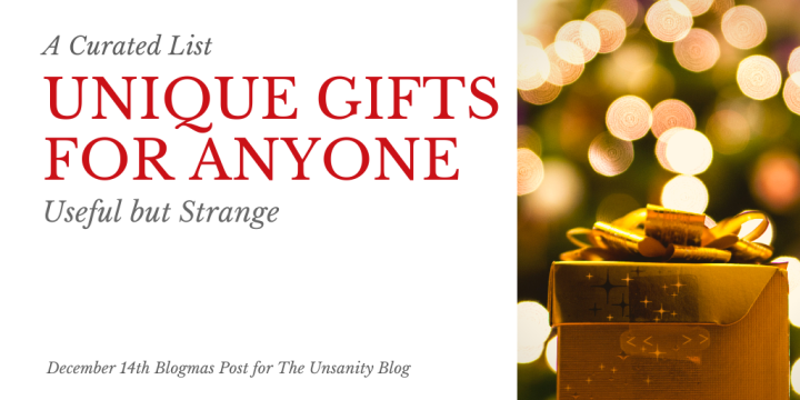 Blogmas – Unique Gift Ideas for Anyone