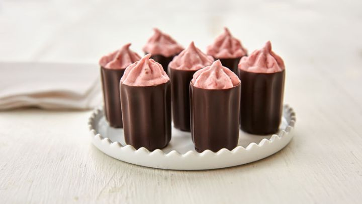 Strawberry-mousse-cups