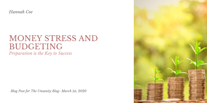 Money Stress and Budget – Hannah Coe