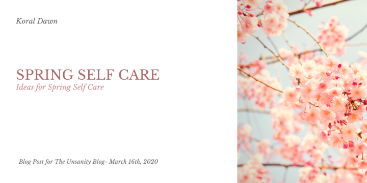 Spring Self Care Ideas